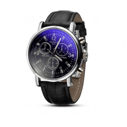 159 Men Luxury Business Leather Wrist Watch