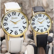 110 Women Fashion Leather Band Quartz Analog Wrist Watches