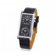 23 Business Women Leather Analog Wrist Watch