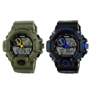 11 S-SHOCK Dual Sports Waterproof Wrist Watch