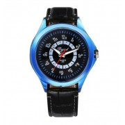 152 Men Sport Leather Analog Wrist Watch