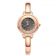 283 Gold Women Stainless Steel Band Wrist Watch