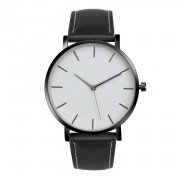 109 Black Simple Design Classic Wrist Watch