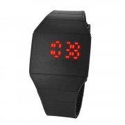 28 Mens Womens LED Touch Sports Silicone Bracelet Wrist Watch