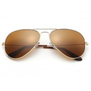 16 Vintage Classic Aviator Metal Sunglasses